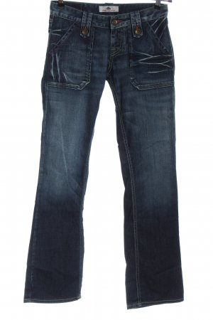 Fornarina Low Rise Jeans blue casual look