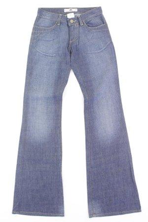 Fornarina Jeans blue-neon blue-dark blue-azure cotton