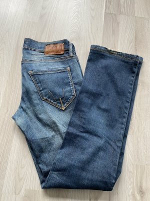 Fornarina Jeansy z prostymi nogawkami Wielokolorowy