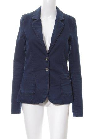 Fornarina Jeansblazer blau Casual-Look