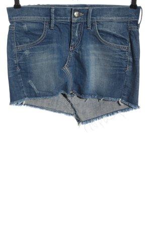 Fornarina Denim Skirt blue casual look