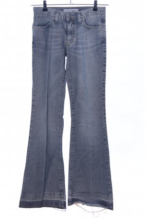 Fornarina Jeansschlaghose blau Casual-Look