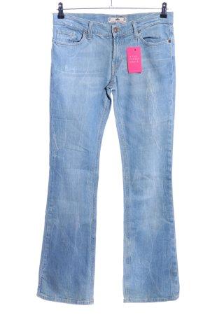 Fornarina Jeans flare bleu style décontracté