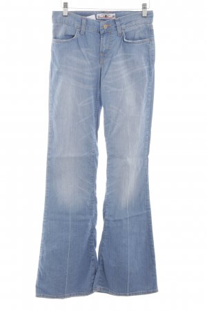 Fornarina Jeansschlaghose himmelblau Casual-Look