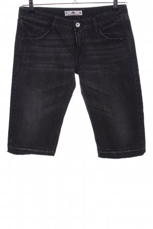 Fornarina Jeansshorts schwarz Casual-Look
