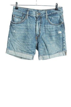 Fornarina Jeansshorts blau Casual-Look