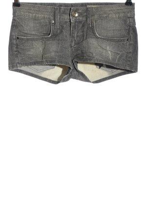 Fornarina Denim Shorts light grey casual look