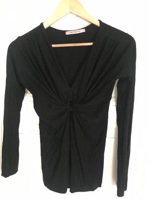 Fornarina Koszulka z długim rękawem czarny