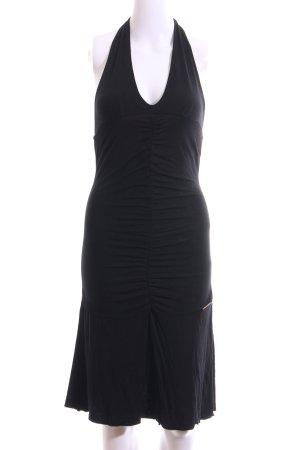 Fornarina Jerseykleid schwarz Casual-Look