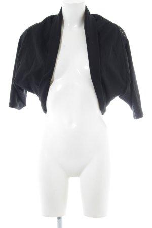 Fornarina Kurzjacke schwarz extravaganter Stil