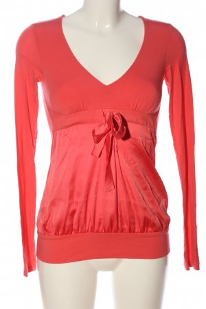 Fornarina Langarm-Bluse rot Casual-Look