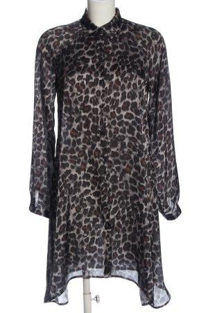 Fornarina Long Sleeve Shirt abstract pattern casual look