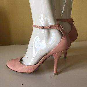 Fornarina Leder Pumps Gr 39 nude rosa