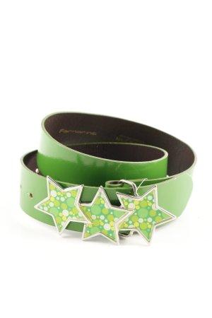 Fornarina Ledergürtel grün Casual-Look