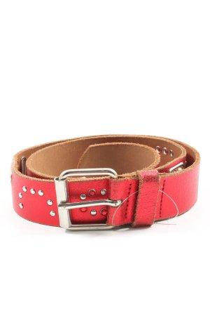 Fornarina Leather Belt red elegant