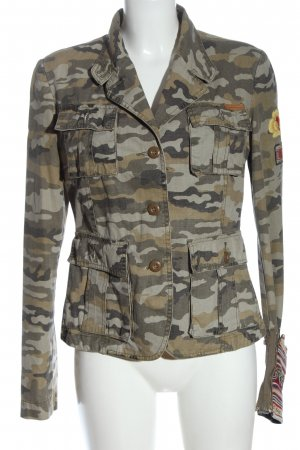 Fornarina Military Jacket allover print casual look