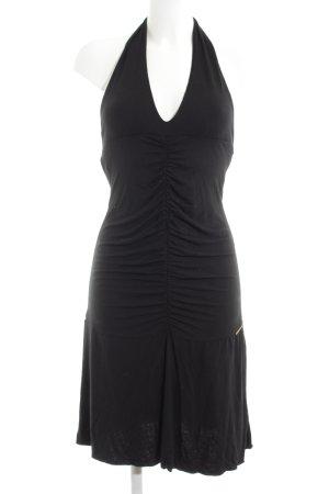 Fornarina Neckholderkleid schwarz Elegant