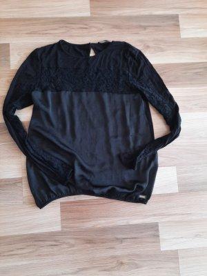 Fornarina Top koszulowy czarny