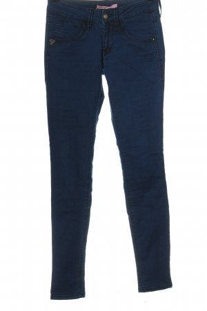 Fornarina Tube Jeans blue casual look