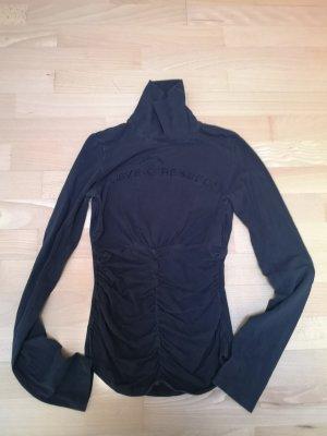 Fornarina Camisa de cuello de tortuga negro
