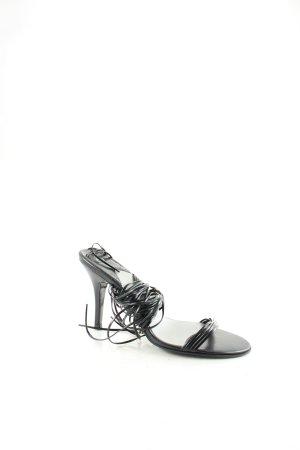 Fornarina Sandaletten schwarz klassischer Stil