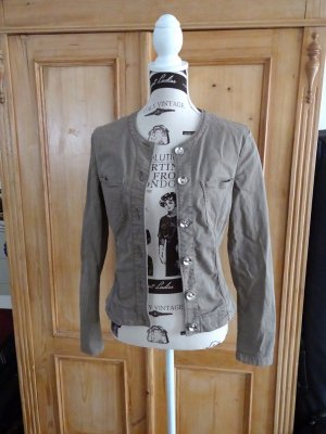Fornarina Denim Jacket grey brown cotton