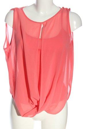 Fornarina ärmellose Bluse pink Casual-Look