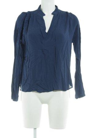 Fornarina Schlupf-Bluse blau Casual-Look