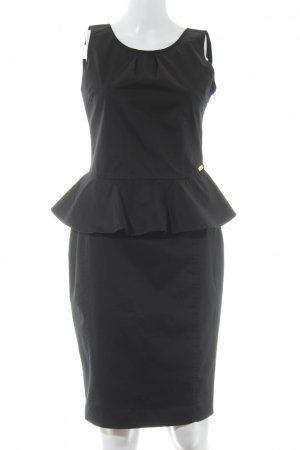Fornarina Peplum Dress black elegant