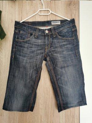 Fornarina Denim Shorts blue-dark blue