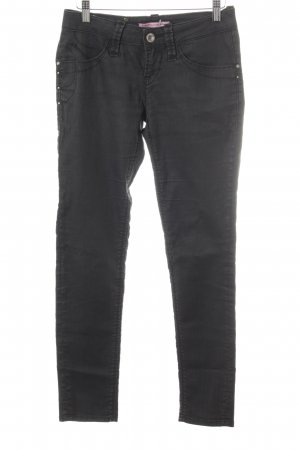 Fornarina Skinny Jeans anthrazit Casual-Look