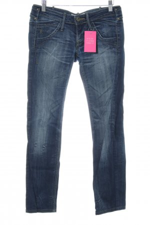Fornarina Skinny Jeans dunkelblau Casual-Look