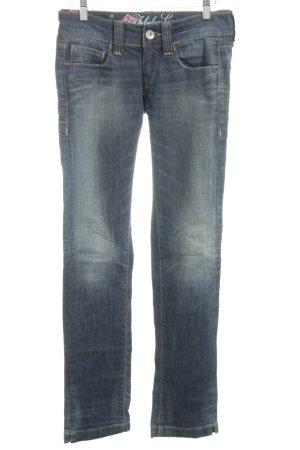 Fornarina Skinny Jeans blau Casual-Look