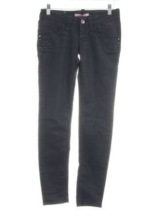 Fornarina Skinny Jeans schwarz Casual-Look