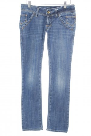 Fornarina Skinny Jeans graublau Casual-Look