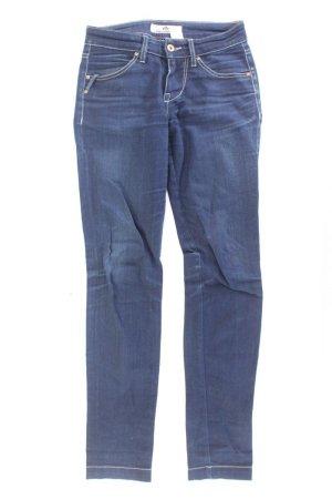 Fornarina Jeans skinny bleu-bleu fluo-bleu foncé-bleu azur coton