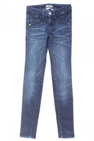 Fornarina Skinny Jeans blue-neon blue-dark blue-azure cotton
