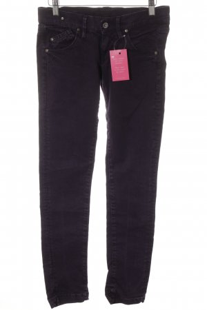 Fornarina Skinny Jeans lila Casual-Look