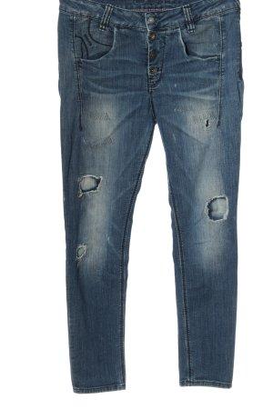 Fornarina Dopasowane jeansy niebieski W stylu casual