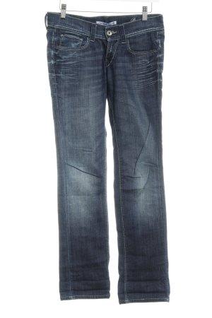Fornarina Slim Jeans dunkelblau Casual-Look