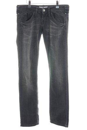 Fornarina Slim Jeans Farbverlauf Logo-Applikation