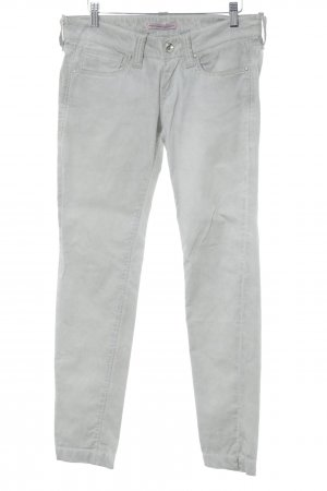 Fornarina Slim Jeans hellgrau Casual-Look