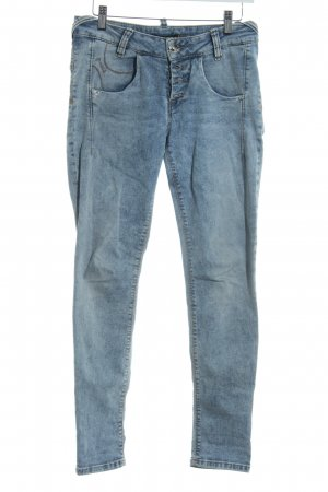 Fornarina Slim Jeans himmelblau Casual-Look