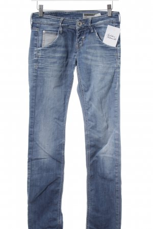 Fornarina Slim Jeans himmelblau-weiß Jeans-Optik