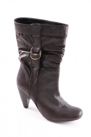 Fornarina Slouch Boots lilac-brown elegant