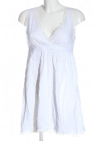 Fornarina Lace Dress white casual look