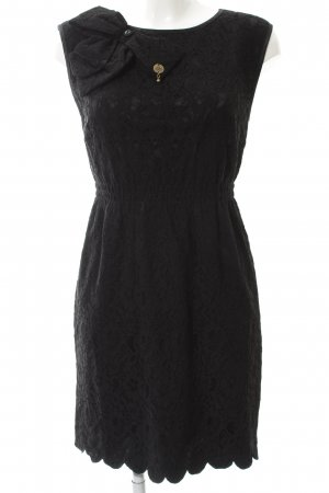 Fornarina Spitzenkleid schwarz Elegant
