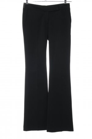 Fornarina Stoffhose schwarz Business-Look