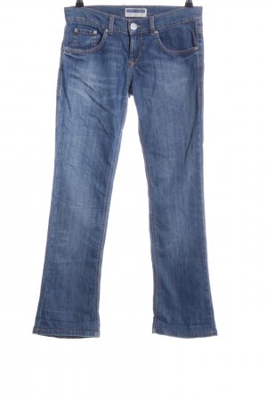 Fornarina Straight-Leg Jeans blau Casual-Look