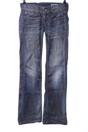 Fornarina Jeansy z prostymi nogawkami niebieski